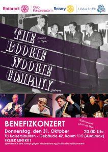 Benefizkonzert - The Boogie Woogie Company @ Audimax der TU Kaiserslautern